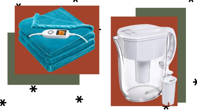 Today's best deals include electric blankets, Brita filters and more.