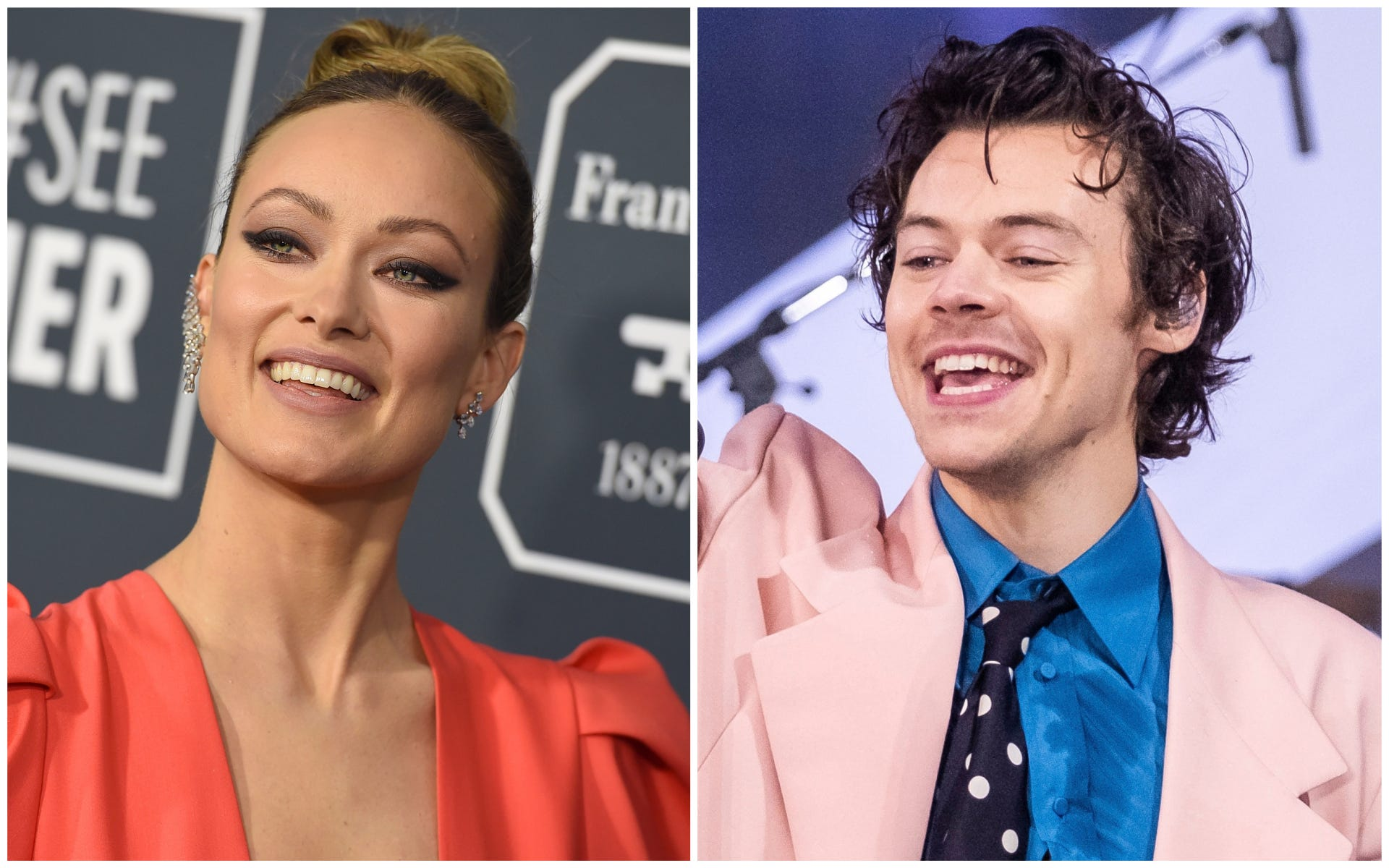 Olivia Wilde praises Harry Styles   humility and grace  weeks after romance rumors surface