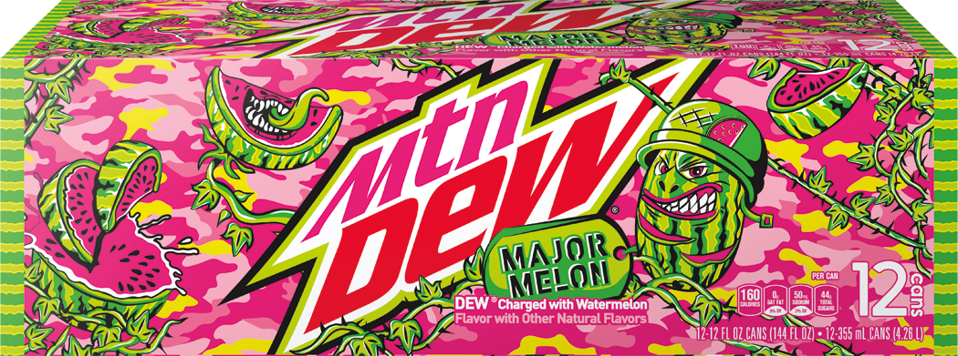 Mountain Dew Major Melon: Watermelon is soda's first new flavor in more than a decade