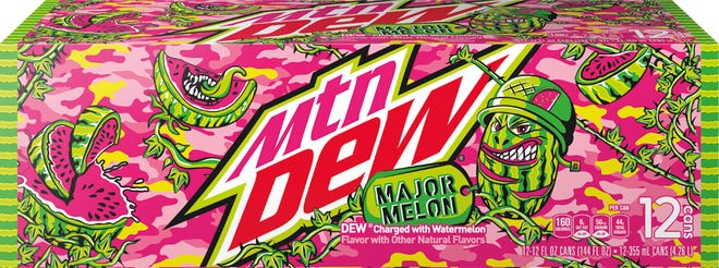 Mountain Dew unraveled its first new flavor in more than a decade.