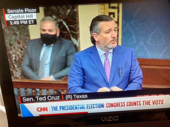 U.S. Sen. Ted Cruz, R-Texas, knew there was no widespread voter fraud in the November presidential election, a reader writes.
