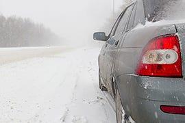 Winterizing Vehicle