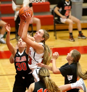 Crestview's Kenedi Goon has the Cougars at No. 1 in the Richland County Girls Basketball Power Poll.