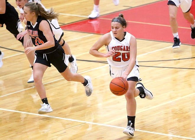 Crestview's Mary Leeper has the Cougars at No. 1 in the Richland County Girls Basketball Power Poll.