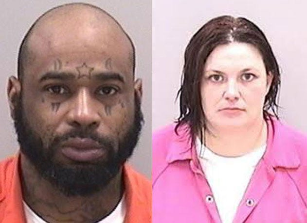 Ronald A. Harris Jr., 41, left, and Margaret E. Harris, 35, were indicted in connection to the death of John Scott Devore.