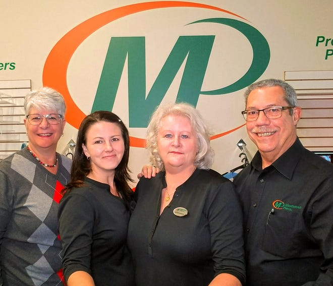 Minuteman Press in Beaver Falls was named 2020 small business of the year by the Beaver County Chamber of Commerce. Owners Karl Chapple and Nancy Chapple, alongside  graphics and production manager Tracy Hager and operations manager Kim Richardson, kept the shop open during COVID-19.