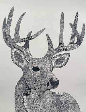 The January Artist of the Month at Canton High is Shaylynn Locke.
