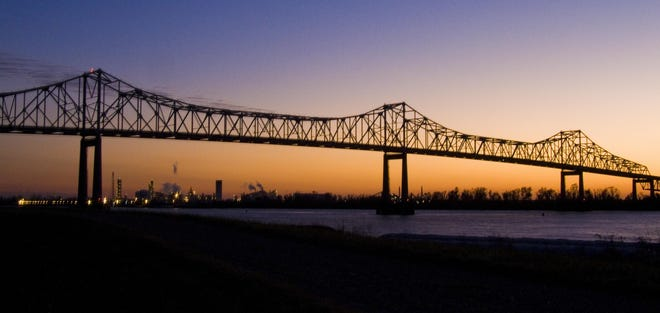 The Taiwan-based Formosa chemical company plans to build a plastics and chemical manufacturing plant on the west bank of the Mississippi River in St. James Parish, about a mile downriver from the Sunshine Bridge (pictured).