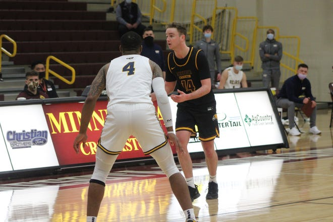 Brian Sitzmann is averaging 13 points and 4.5 rebounds per game this season, and leads the Golden Eagles in scoring.