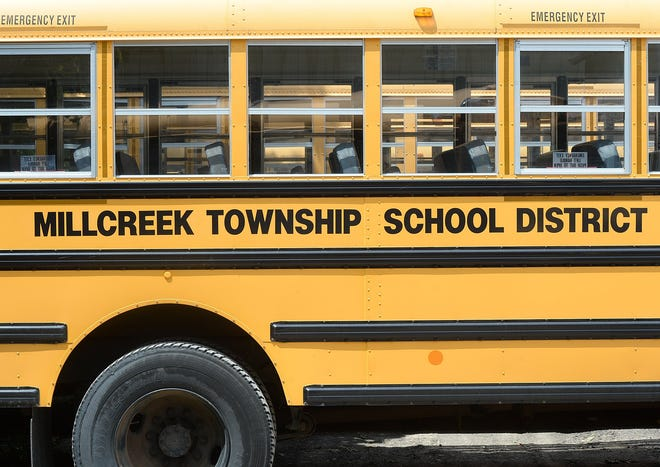 The Millcreek Township School District's 2021-22 budget so far is projected at $106.1 million. The board is expected to adopt a final budget in May.