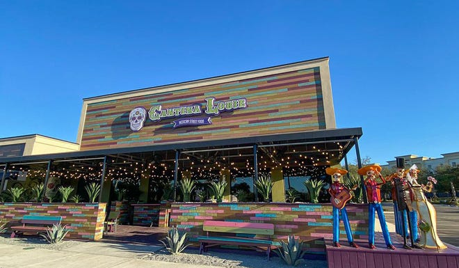 Cantina Louie opened its newest restaurant this week at 1040 Hospitality Lane near Monument Road and Interstate 295 in the Regency area.