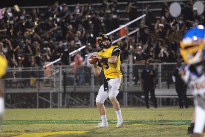 St. Amant junior quarterback Cole Poirrier was a first-team all-district selection.