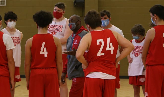 Hendersonville's players participate in practice on Dec. 28 at the Boys and Girls Club of Hendersonville.