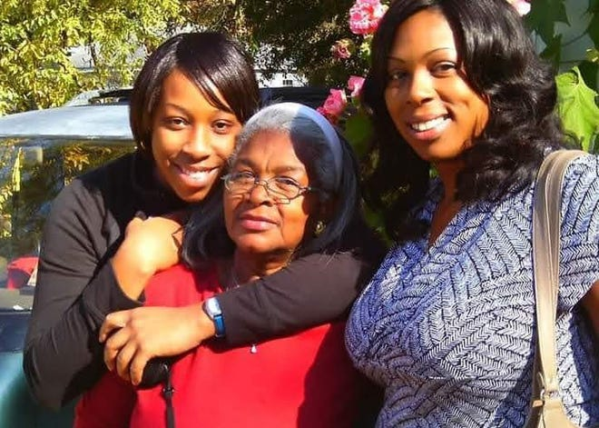 Koutrina Bianca Brown, right, poses with her mother, Rosa Chapman, and daughter Rayne Bonney in a picture provided by Bonney.