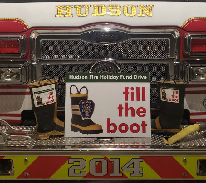"The Hudson Fire Department Association is conducting its ""Fill the Boot"" campaign in a virtual format."