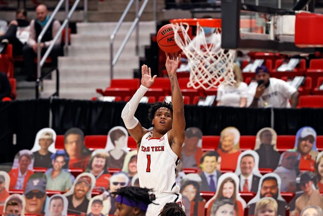 Texas Tech sophomore Terrence Shannon Jr. is one of 10 remaining candidates for the Julius Erving Award, which goes to the top small forward in college basketball.