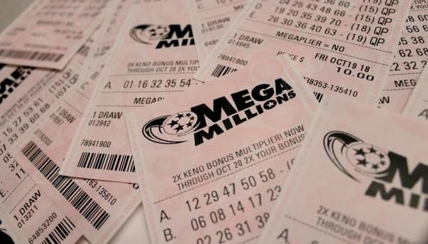 After no grand-prize winner emerged on Tuesday, Mega Millions will have a jackpot approaching half a billion dollars for Friday's drawing.