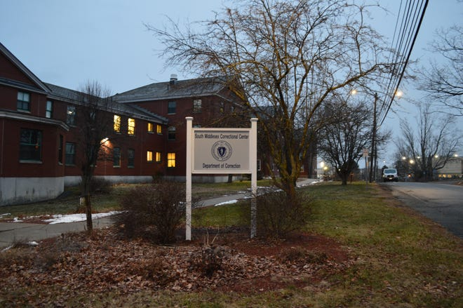 An outbreak of COVID-19 at South Middlesex Correctional Center in Framingham has infected 12 of the minimum security prison's 29 inmates, as well as five staff members.