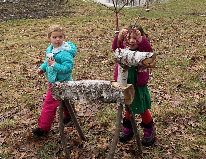 Children at Reindeer Quest.