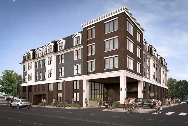 A 30-unit apartment complex planned for Liberty Street in Southwest Quincy.
