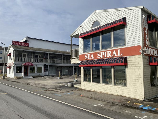 The Sea Spiral, owned by Norm and Sandy Bolyea,  is up for sale at Hampton Beach.