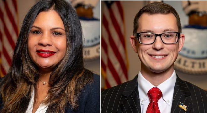 New Hopewell Mayor Patience A. Bennett, left, and Vice Mayor Johnny Partin were chosen from among their City Council colleagues Tuesday, Jan. 5, 2021. They will serve two=year terms.