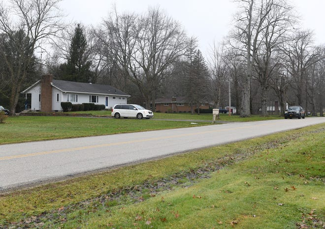 The Portage County Coroner's Office says no foul play is suspected after an elderly woman was found dead outside this home on Fairground Road in Randolph Township early Wednesday morning.