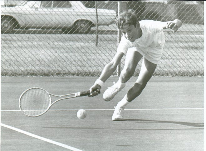 Mark Saunders won his first tennis tournament in Rockford at age 12. He is now the executive director of the United States Tennis Association Midwest Section and was picked as the No. 8 greatest tennis player in Rockford-area history.