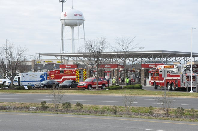 Emergency crews responded to the south Smyrna Wawa this morning, Jan. 6, for an unusual rescue and received help from two mechanics from Willis Chevrolet Buick.