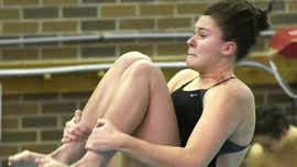 Green's Peterson focused on state diving title