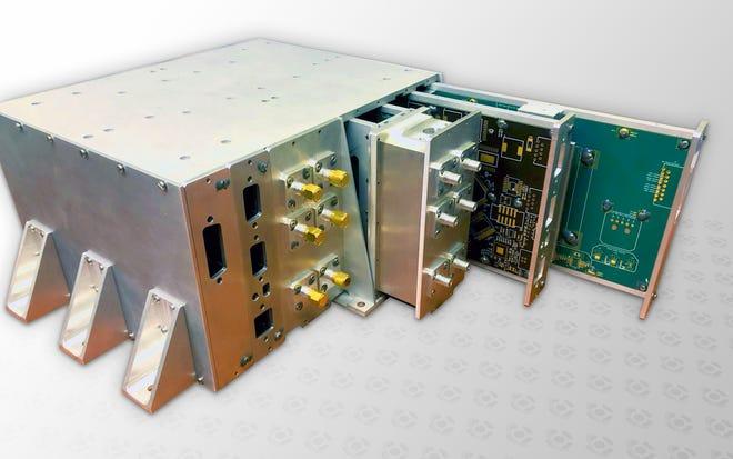 A UF LISA charge management device prototype. (University of Florida)