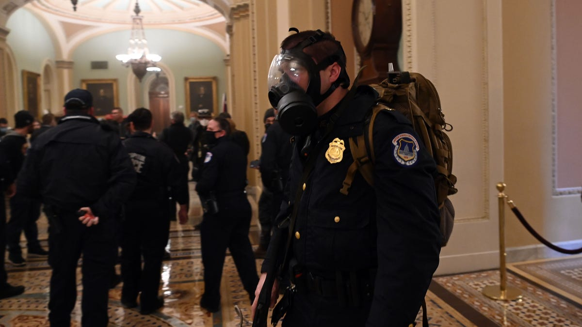 Capitol Police face outrage after rejecting federal help 1