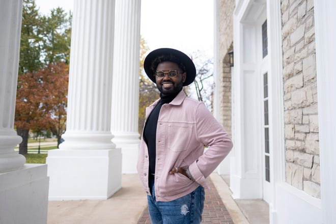 "John Holiday, associate professor of music at Lawrence University's Conservatory of Music, is shown on the Appleton campus in October. He has added another title to his name since then: finalist on Season 19 of ""The Voice."""