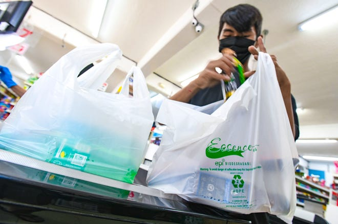 Mayors modify to Guam plastic bag ban imposed by EPA