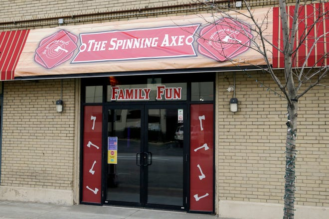 The Spinning Axe, 531 South St., Wednesday, Jan. 6, 2021 Lafayette.