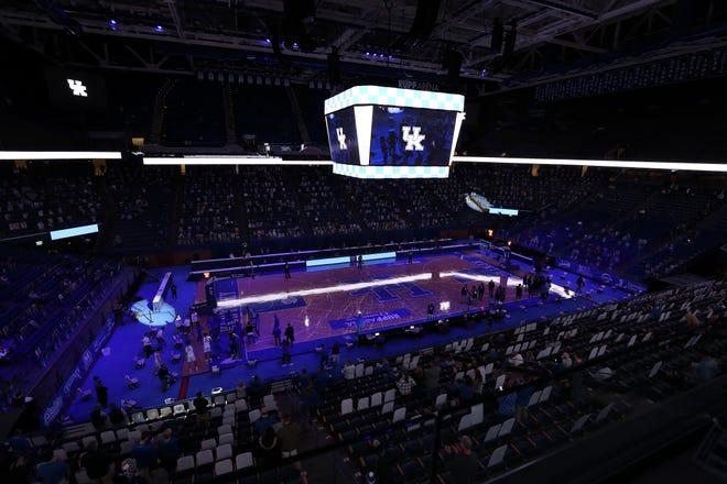 UK versus Vanderbilt during their game in Rupp Arena in Lexington. on Jan. 5, 2021.