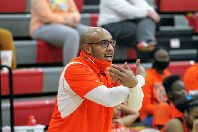 Mansfield Senior head coach JeVar Hudgens was named the OCC co-Coach of the Year.