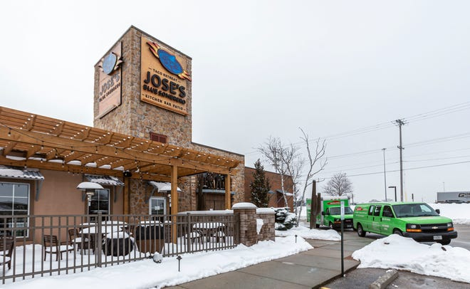 Jose's Blue Sombrero in Brookfield closed after a fire Jan. 5. The company said Friday that location would not reopen.