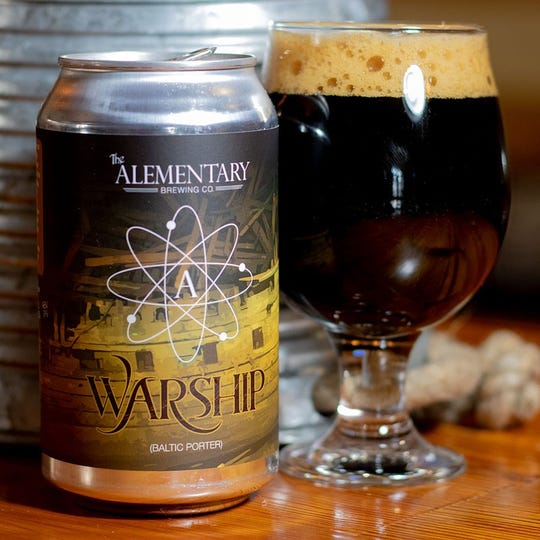 The Warship beer name and design is inspired by a 17th-century shipwreck that was found in the Baltic Sea.