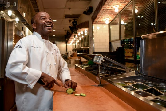 Michel Desjardins, the Executive Chef at Spuntino  in Clifton poses for a photo on Wednesday January 6, 2021.