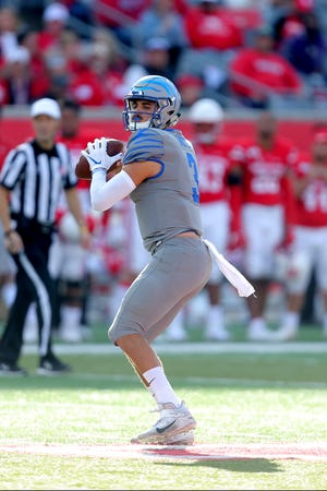 Memphis quarterback Brady White, who began his career at Arizona State, is recipient of the William Campbell Trophy, awarded for academic success, football performance and leadership.