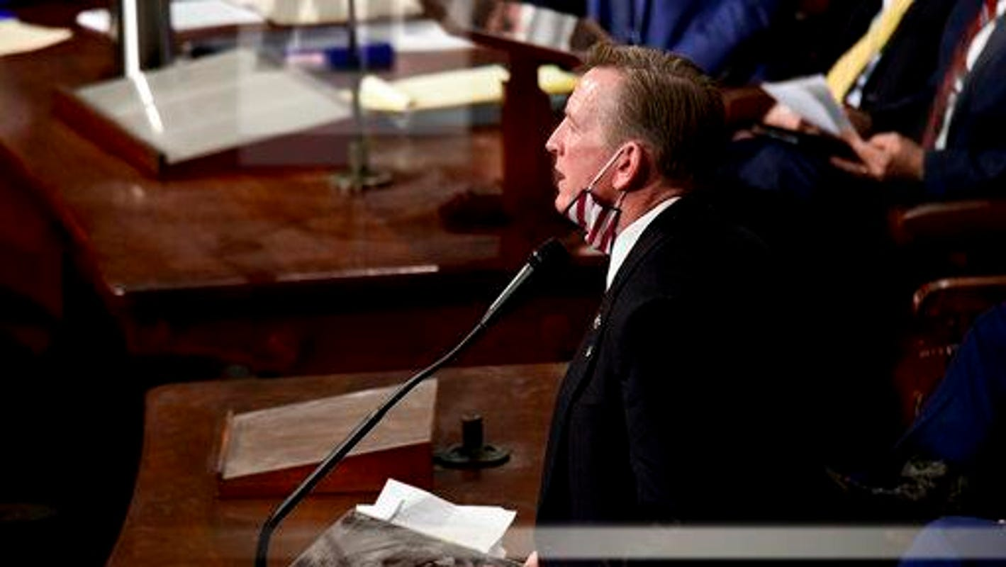 Rep. Paul Gosar: Allegations he instigated Jan. 6 Capitol riot are 'devoid of reality'