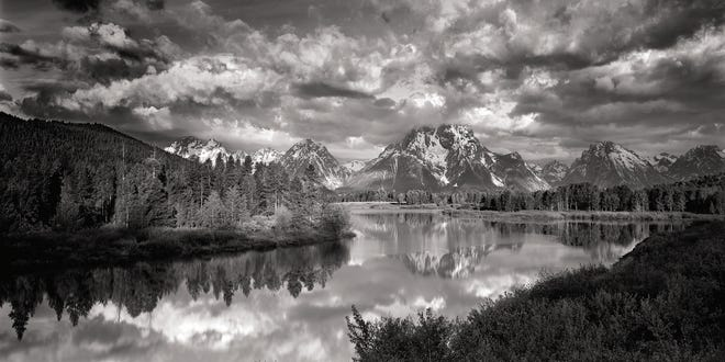 Clyde Butcher, Oxbow Bend 63, 2006, Silver Gelatin Print AP1/3, 52 x 100 inches
