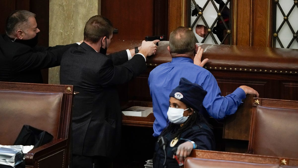 Rioters Storm Into U S Capitol