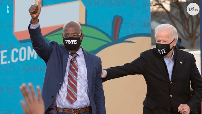Raphael Warnock was elected to the Senate on Jan. 5.
