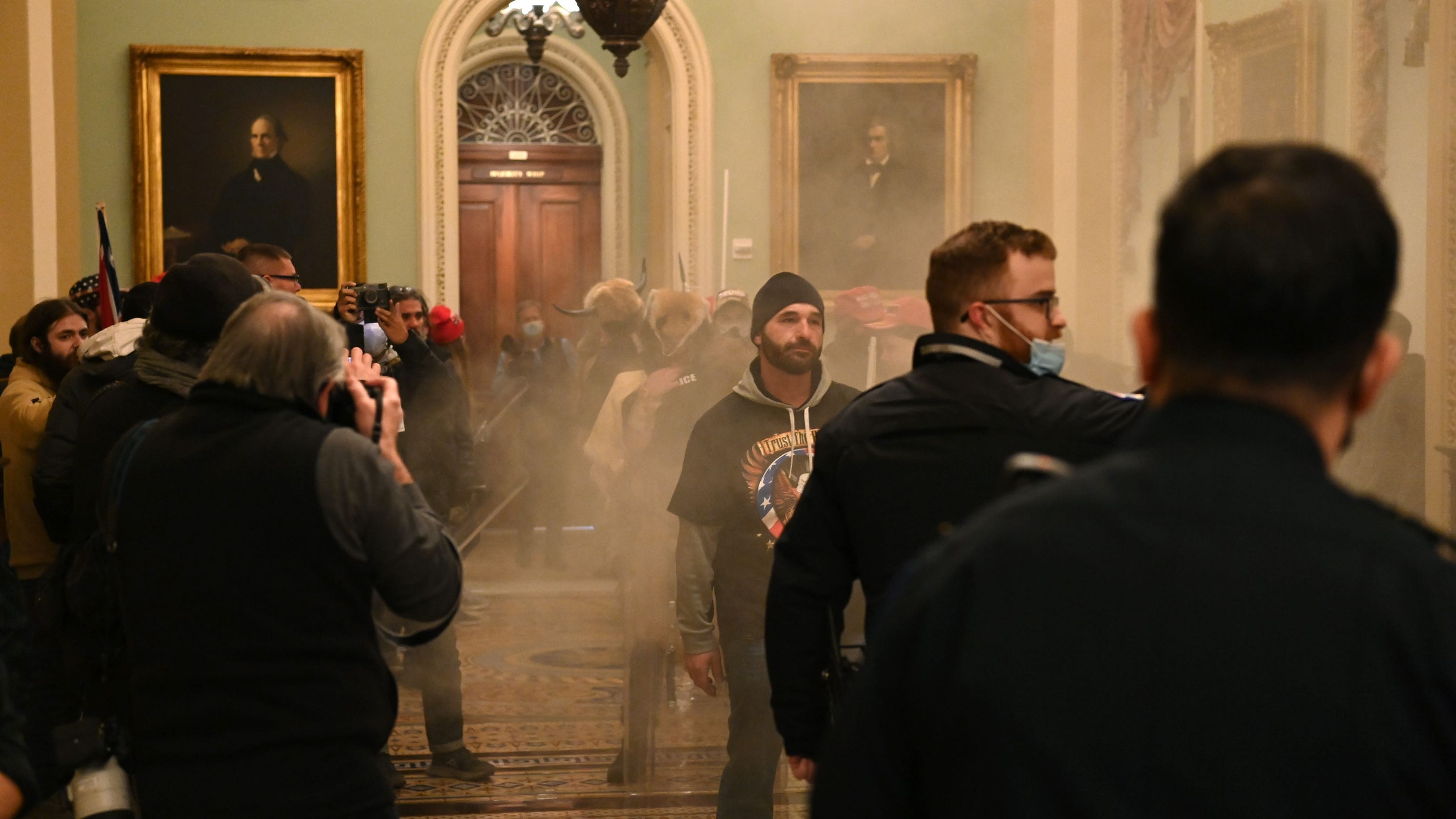 4 dead, 52 arrested, 14 police officers injured after pro-Trump rioters breach US Capitol