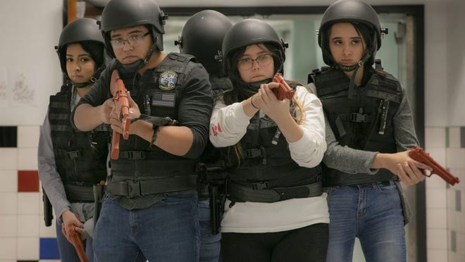 """Documentary """"At the Ready"""" follows El Paso teens near the Mexican border who are part of a criminal justice club."""