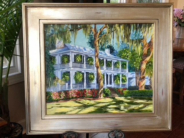 """This painting by local artist and SOBA board member Kim France is one of dozens of works highlighted through Feb. 4 during """"The Beauty of Bluffton"""" exhibits."""