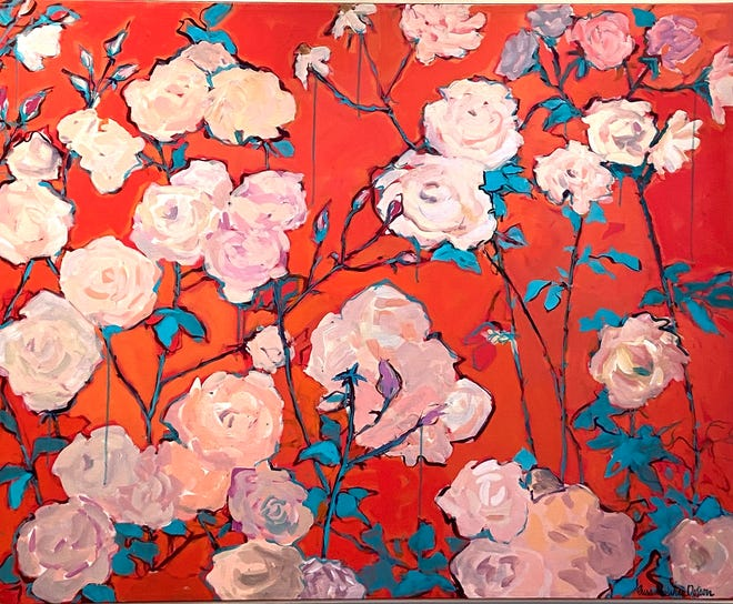 """""""Weeping Roses"""" by Susanne Dotson"""