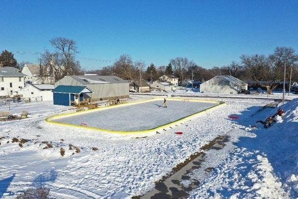 The open house for the Dallas Center Ice Rink and Ice Rink Shed has been set for Saturday, Jan. 9.